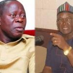 N10bn libel suit: Ortom says he will forgive if Oshiomhole tenders apology