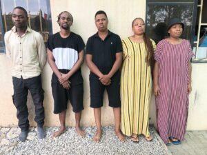 NDLEA bursts online drug trafficking cartel, arrests 5 in Abuja